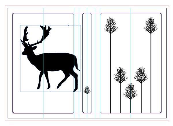 pasted deer