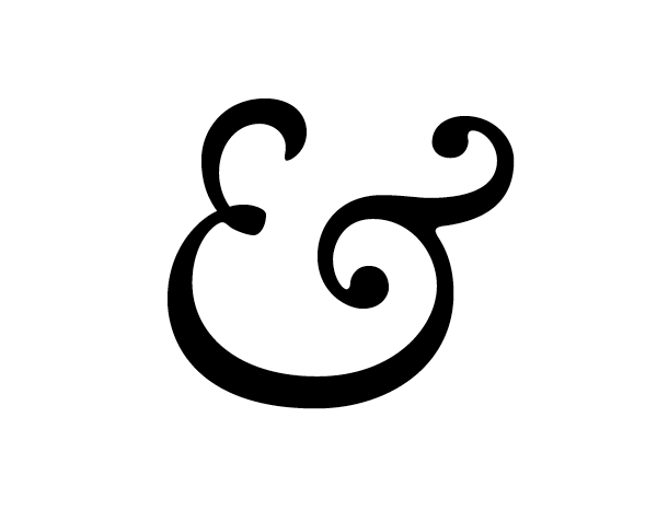 caslon ampersand