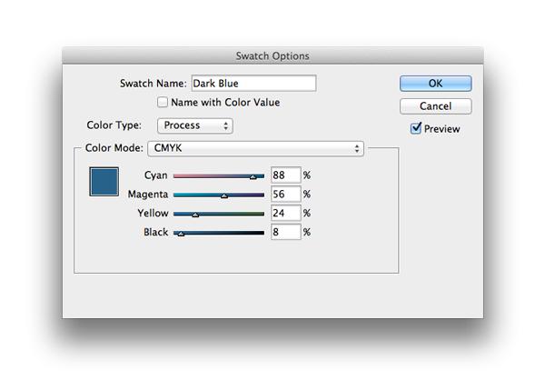 swatch options dark blue