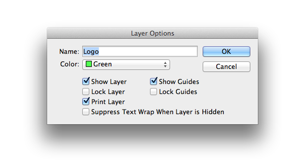 layer options logo
