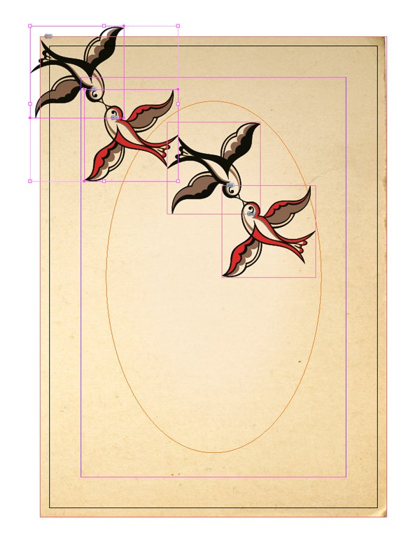 pattern of birds