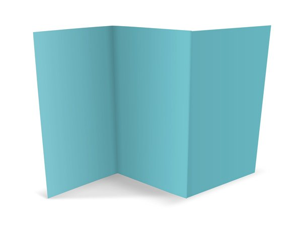 tri-fold brochure accordian fold