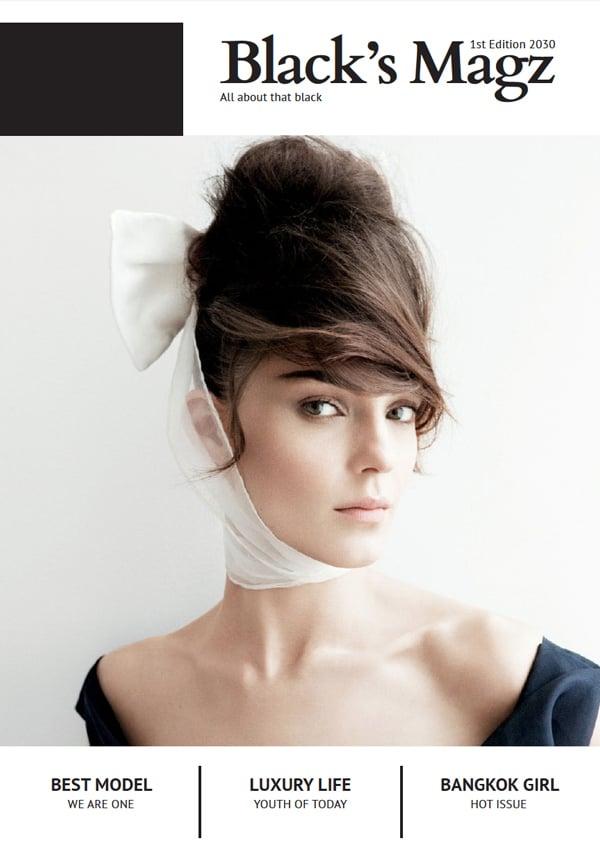 minimal fashion cover
