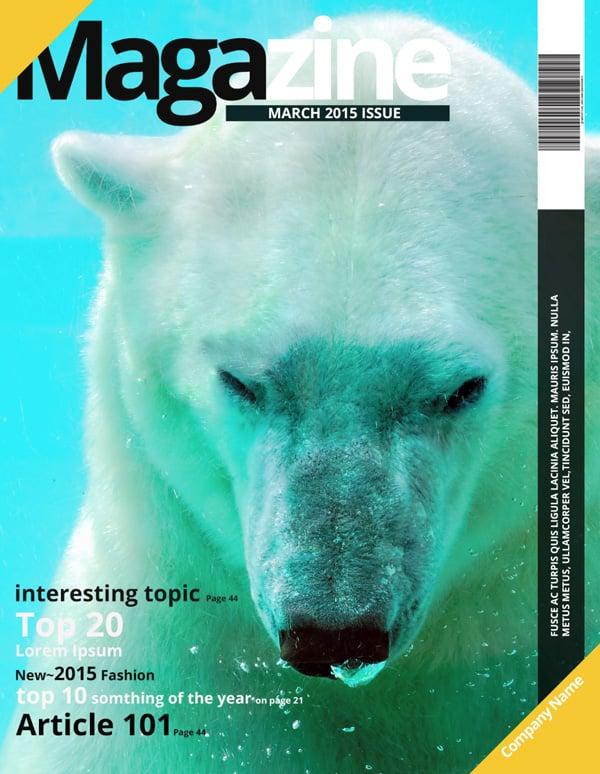 nature magazine cover