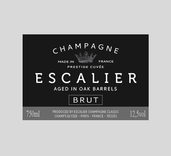 champagne label