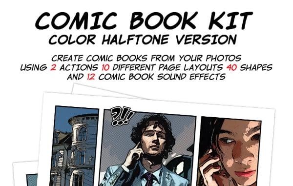 comic book template