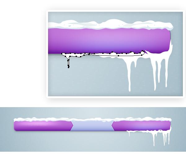 Create icicles 3
