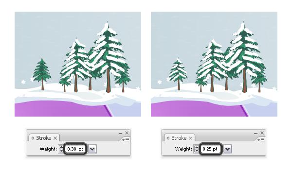 Add snow on trees 2