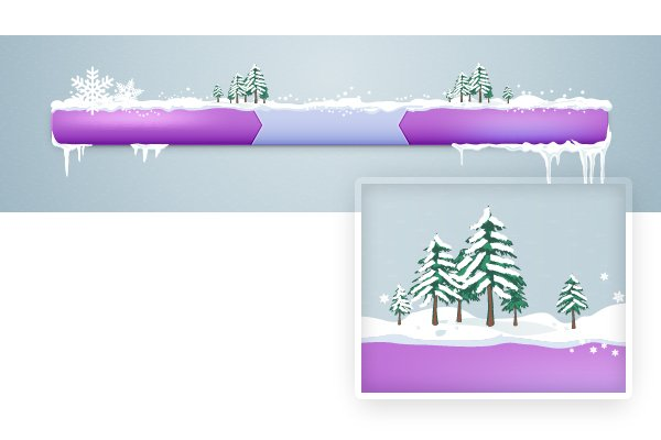 Add snow on trees 3
