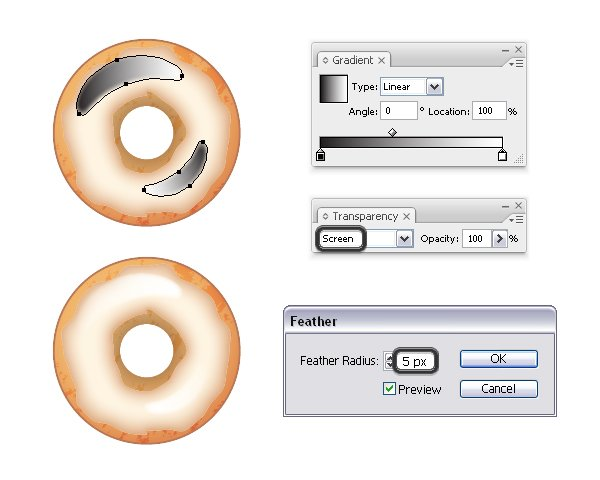add shine on donut 2