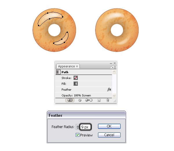 shine on donut