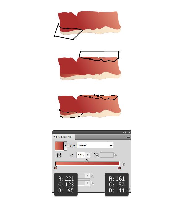 create slice of ham 3