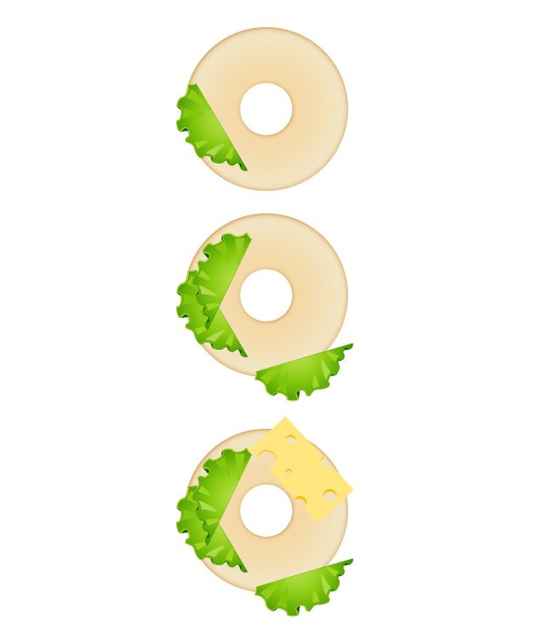 compose bagel sandwich 2
