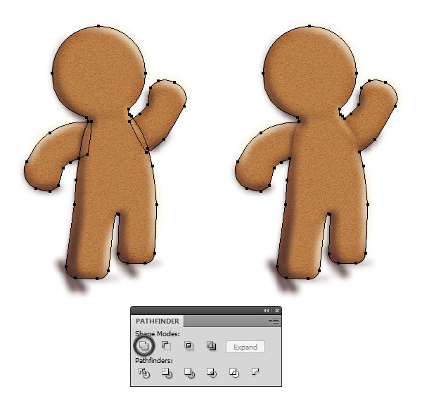 mask the gingerbread man 1