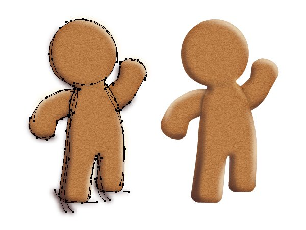 mask the gingerbread man 2