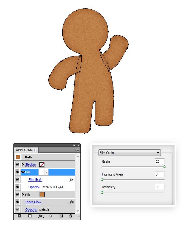 create gingerbread texture 2