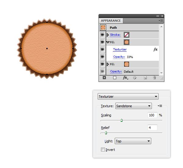Apply Texturizer to Cupcake