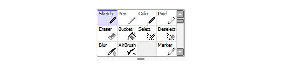 Tools and Brushes Panel