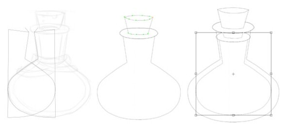 Simple operations to make the bottle even