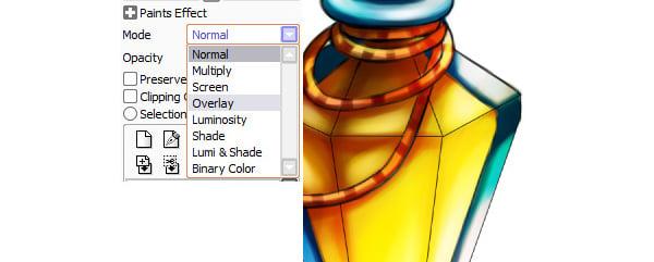 Adding more brightness using Overlay layer