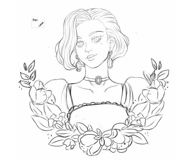 Sketch is ready for vector