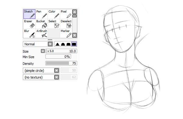 Quick rough base sketch