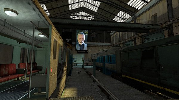 An early point in Half-Life 2