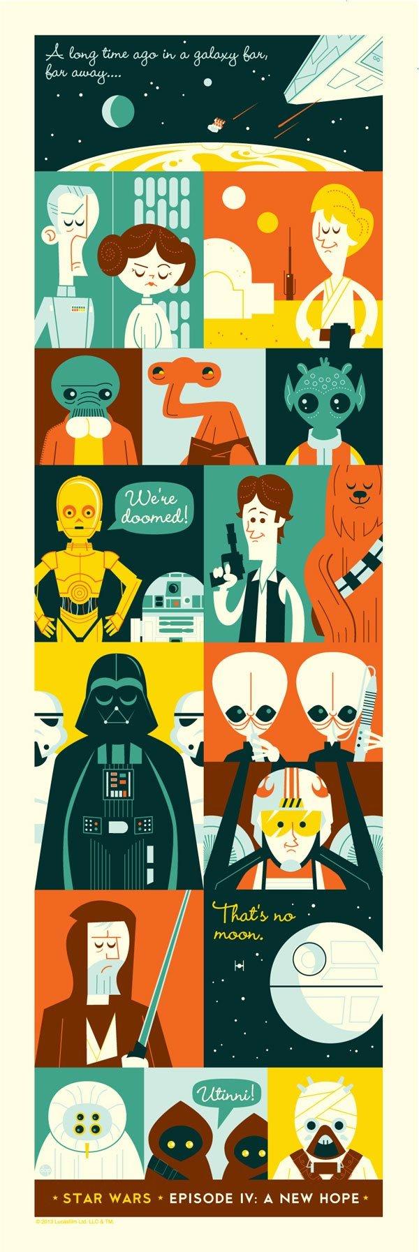Star Wars poster design