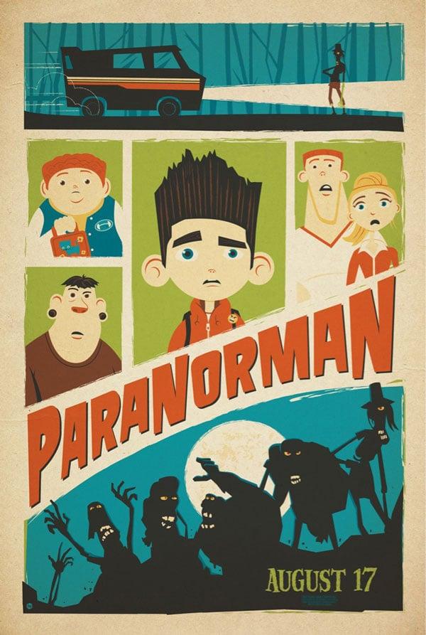 Paranorman poster design
