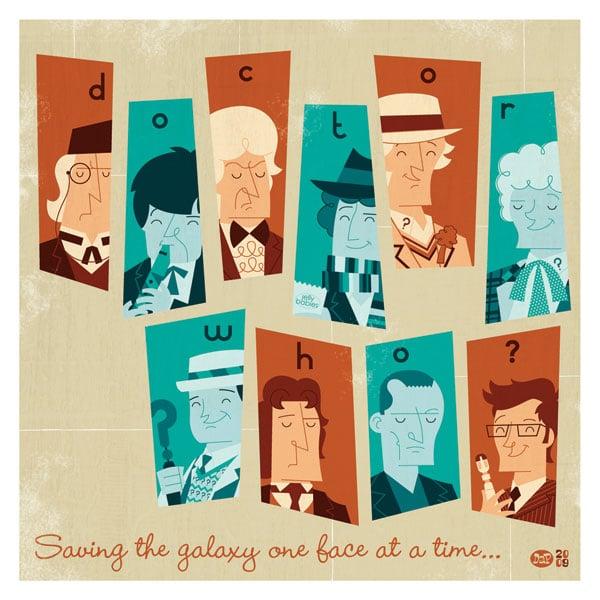 Doctor Who Illustration