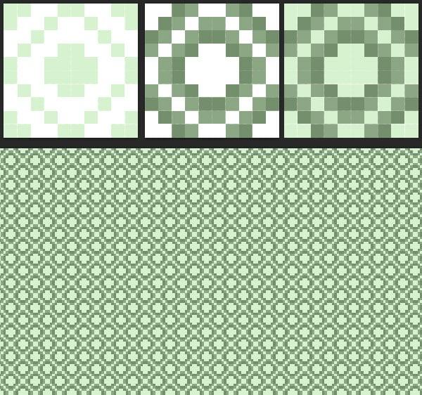 Making a custom pixel background