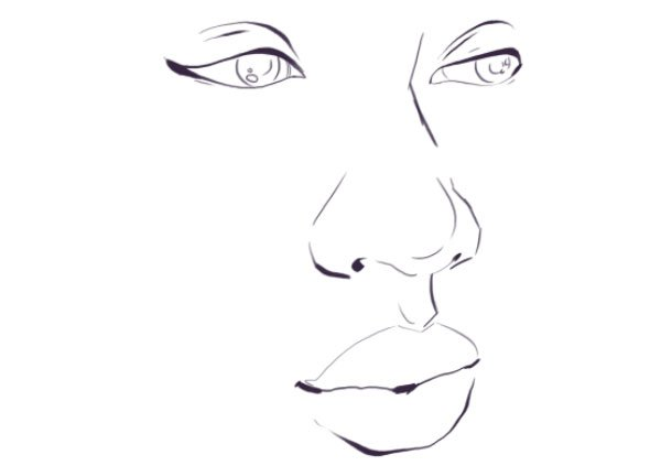 Tracing a face for your line art