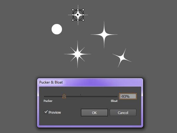 Create simple sparkles