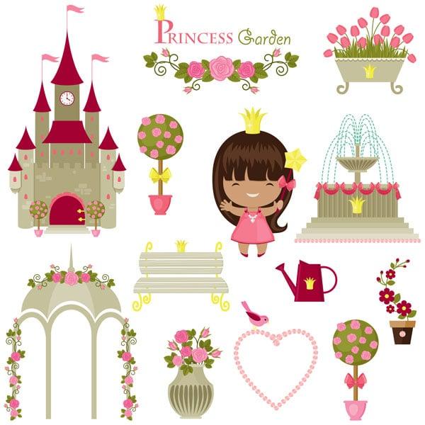Little Princess stock art design