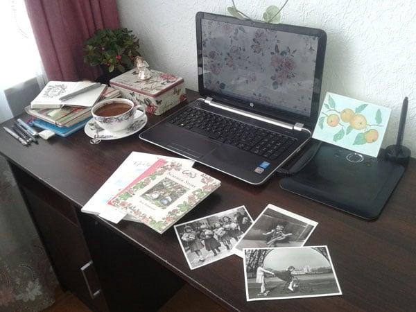 Nataliyas work space