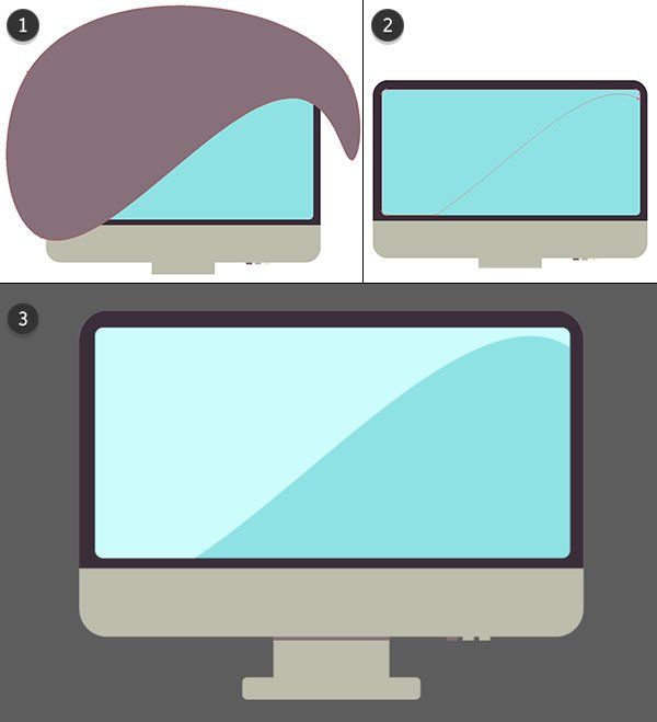 Draw details onto the monitor