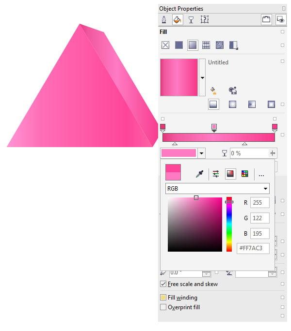 Apply simple linear gradients