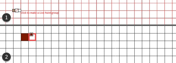 Start filling in grid spaces