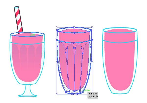 Set up your milkshake to become cola