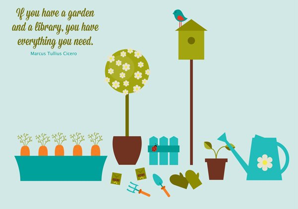 Lolly Sunshines take on the garden set tutorial