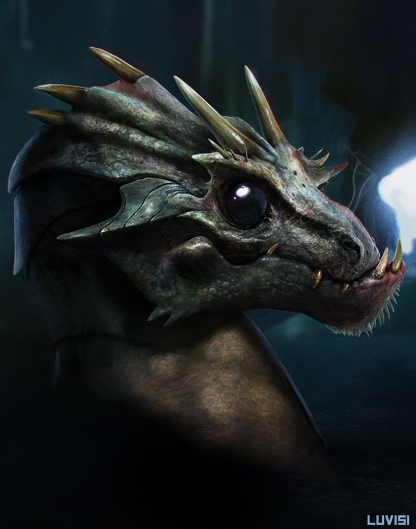 Baby dragon from Your Highness
