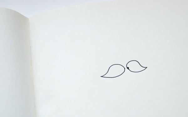 Bird-like mustache shapes