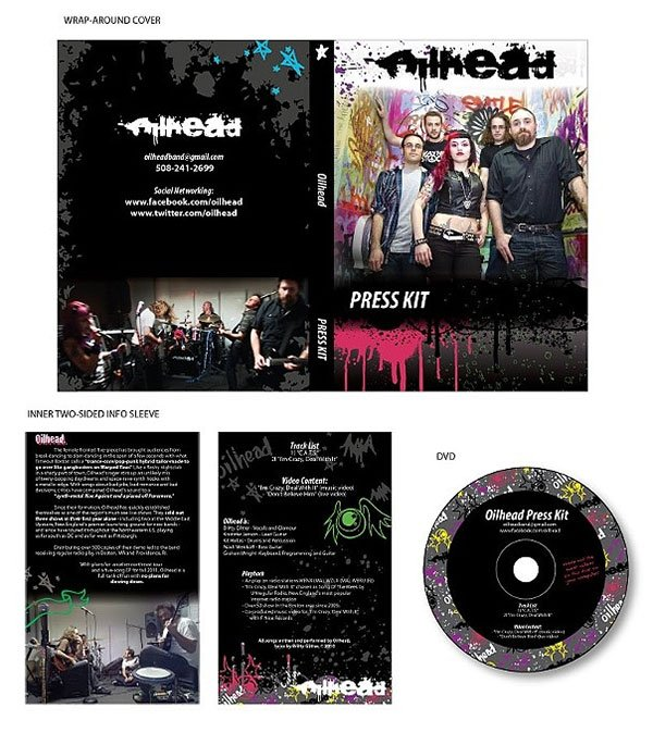 Oilhead Press Kit 2012 by Allison Bamcat