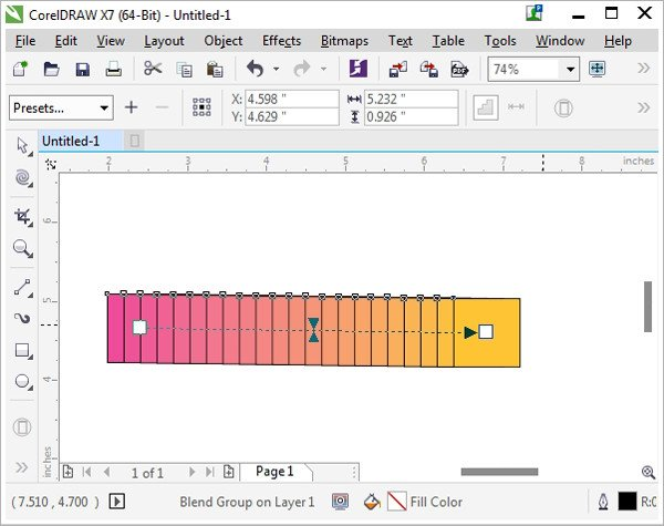 The Blend Tool