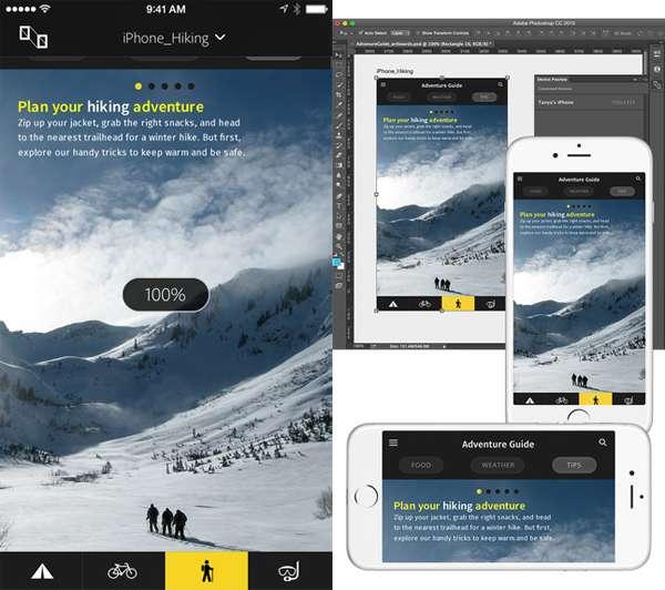 Adobe Preview Interface