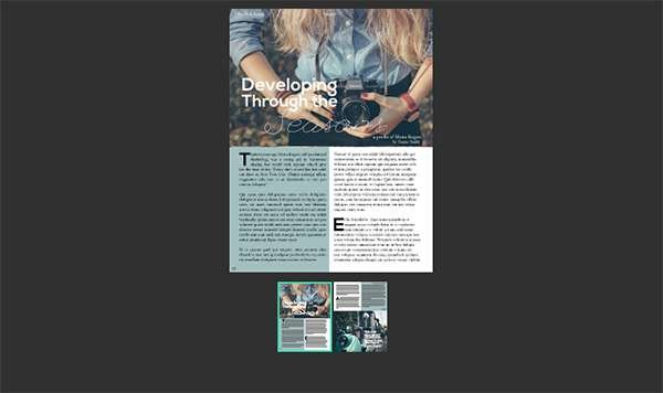 Easily publish content online directly from InDesign