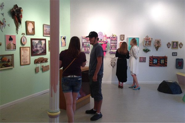 The Thrift Show at Glitter Milk Gallery in Grand Rapids Michigan