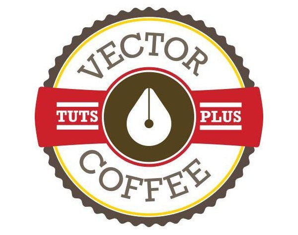 Maxine Correya shared her version of a coffee house logo from a tutorial by Chris Carey
