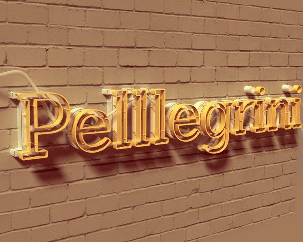 User Pelllegrini shared his personalized 3D text effect result on a tutorial by Rose