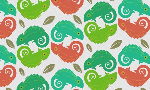 the final chameleon design